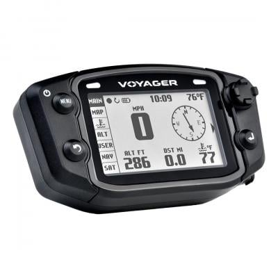 Compteur GPS Trail Tech Voyager pour quad et durite d'eau Ø22 /25 mm