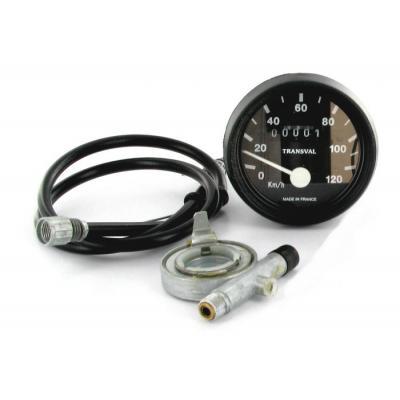 Compteur MBK 51 Transval 120 Km/h pour jante Grimeca