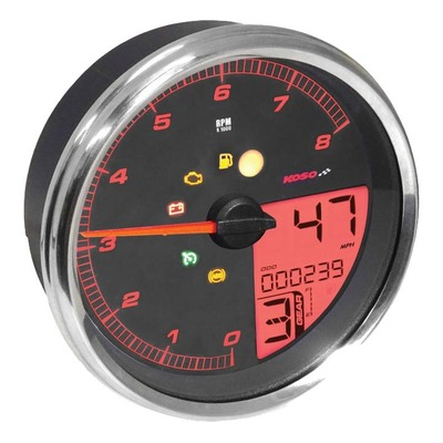 Compteur multifonction Koso HD-05 pour Harley Davidson FLHRC 1584 Road King Classic 07-10