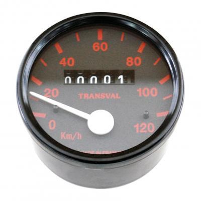 Compteur transval 120km/h pour Peugeot 103 spx-rcx