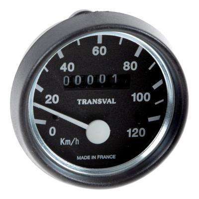 Compteur Transval MBK 51 120 km/h pour jantes tôles ou rayons
