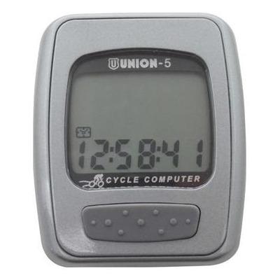 Compteur vélo Marwi Union 5N gris (5 fonctions)