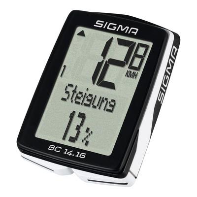 Compteur vélo Sigma BC 14.16 altimétre à fil (17 fonctions)