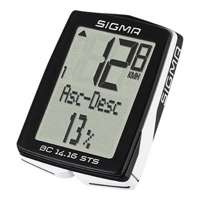 Compteur vélo Sigma BC 14.16 STS sans fil (17 fonctions)