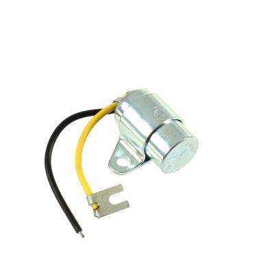 Condensateur cote gauche pour suzuki gt250, t250 70-77, gt500, t350/500 69-77