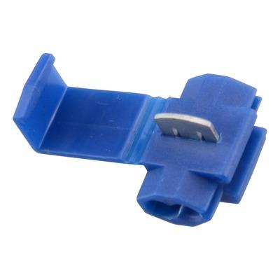 Connecteur rapide clipsable bleu