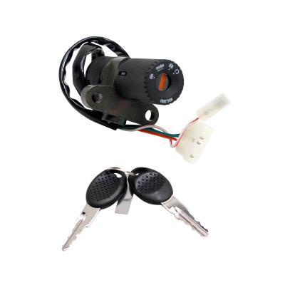 Contacteur à clé adaptable Peugeot 50 xr6/Gilera 50 smt/rcr 2007>
