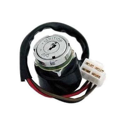 Contacteur à clé adaptable type origine Honda CB 250-750 K6 prise carrée