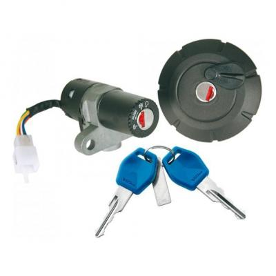 Contacteur à clé + bouchon réservoir adaptable type origine Yamaha XT 125 R/X