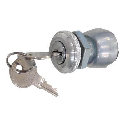Contacteur à clé universel 3 positions ø1,9cm