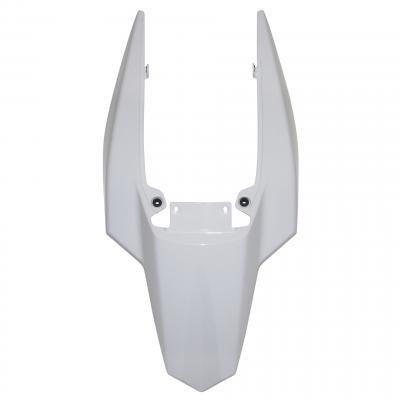 Coque arrière 1Tek Origine monocoque blanc brillant Derbi Senda DRD 2011-