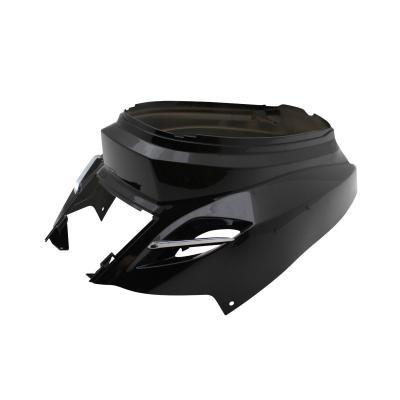 Coque arrière Replay design edition noire brillante pour MBK Booster 2004>/Yamaha BW's 2004>