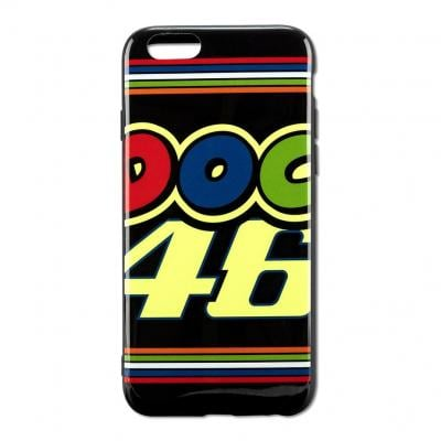 Coque Iphone 7 VR46 Valentino Rossi Classic noir 2018