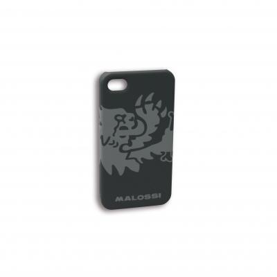 Coque téléphone Malossi noire Iphone 4/4S