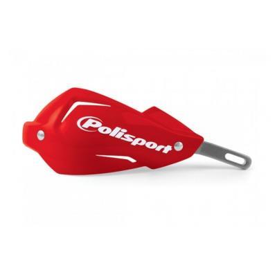 Coques de protège-mains Polisport Touquet rouge CR 2004 (paire)