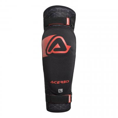 Coudières adulte Acerbis X-Elbow Soft noir/rouge