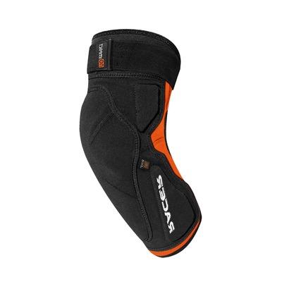 Coudières Racer Profile Elbow D3O noir/orange