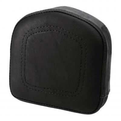 Coussin de sissybar Saddlemen carré noir avec coutures