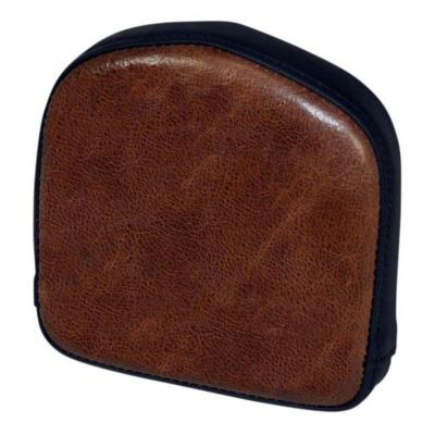 Coussin de sissybar Saddlemen carré noir/marron