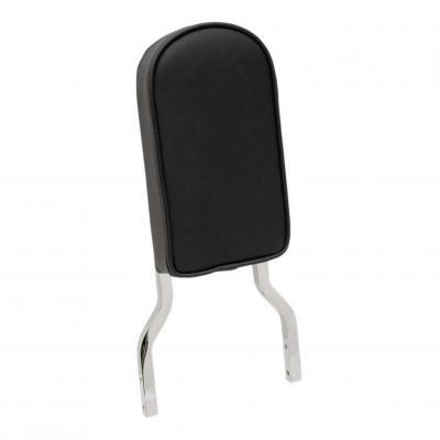 Coussin Drag Specialities de sissybar tube carré noir lisse grand modèle