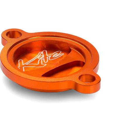 Couvercle de filtre à huile Kite KTM 250 SX-F 06-12 orange