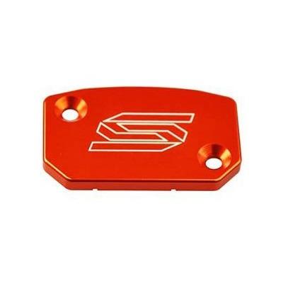 Couvercle de maître cylindre frein avant Scar KTM 125 SX 16-21 rouge
