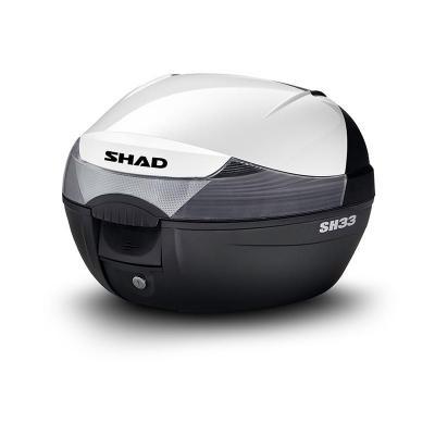 Couvercle de top case Shad SH33 blanc