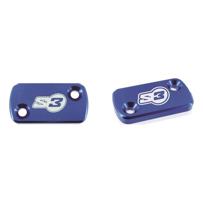 Couvercle S3 bleu pour maître-cylindre large AJP