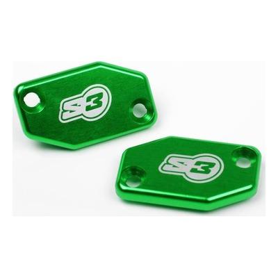 Couvercle S3 vert pour maître-cylindre d'embrayage Braktec