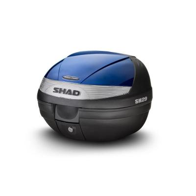 Couvercle Shad pour top case SH29 bleu