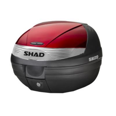 Couvercle Shad pour top case SH29 bordeaux
