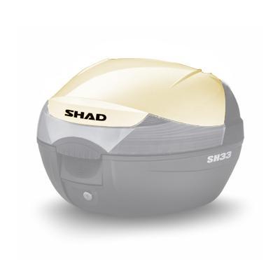 Couvercle Shad pour top case SH33 à peindre
