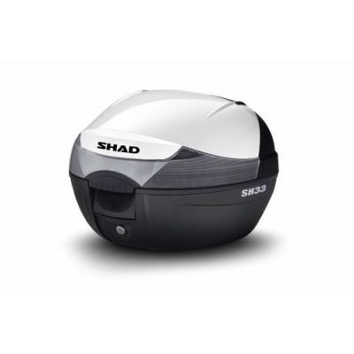 Couvercle Shad pour top case SH33 blanc