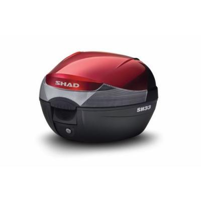 Couvercle Shad pour top case SH33 rouge