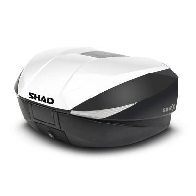 Couvercle Shad pour top case SH58X blanc