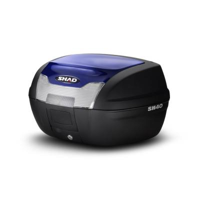 Couvercle top case SHAD SH40 Bleu