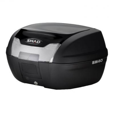 Couvercle top case SHAD SH40 Noir Metal