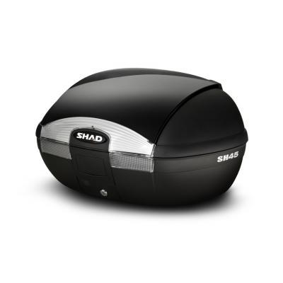 Couvercle top case SHAD SH45 Noir Metal