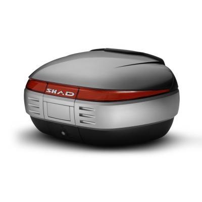 Couvercle top case SHAD SH50 Argent