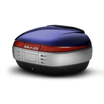 Couvercle top case SHAD SH50 Bleu
