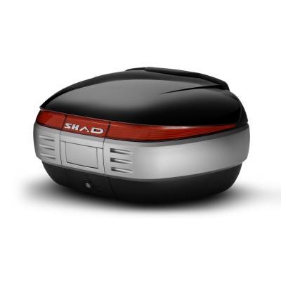 Couvercle top case SHAD SH50 Noir Metal