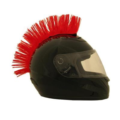 Crète de casque Brazoline rouge