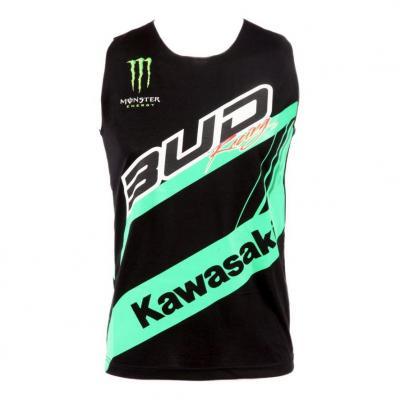 Débardeur femme Bud Racing Staff 17 vert/noir