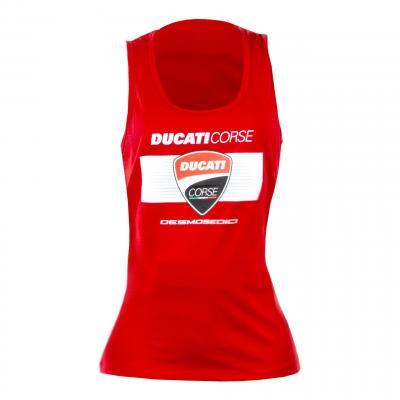 Débardeur femme Ducati Racing rouge