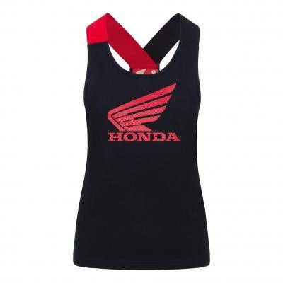Débardeur femme Honda HRC noir/rouge