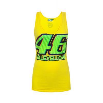 Débardeur femme VR46 Valentino Rossi jaune 2017