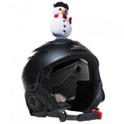 Décoration de casque Bonhomme de neige