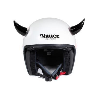 Décoration de casque Chaft cornes noir