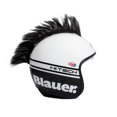 Décoration de casque Chaft crête noir