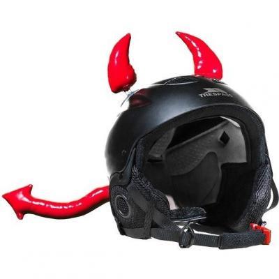 Décoration de casque Diable